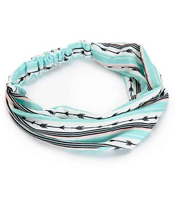 Empyre North Multi Arrow Print Headband