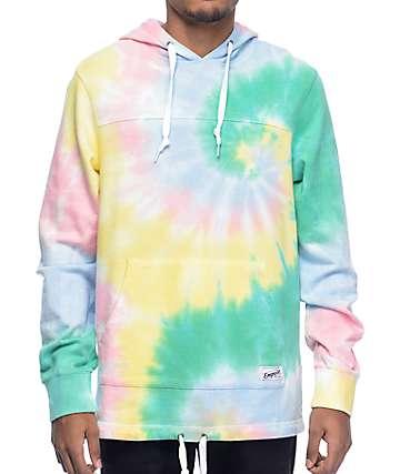 Empyre Ocean Floor Multi Tie Dye Pullover Hoodie
