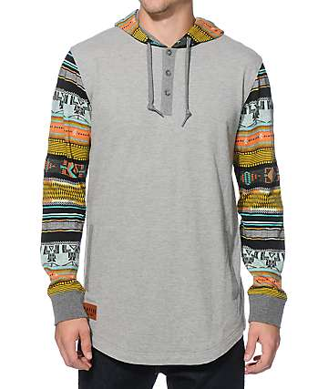 Empyre Old Town Hooded Henley Shirt