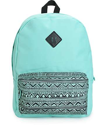 Empyre Olga Mint Tribal Backpack