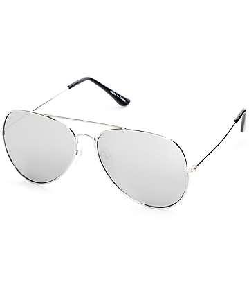 Empyre Opie Aviator gafas de sol en plata