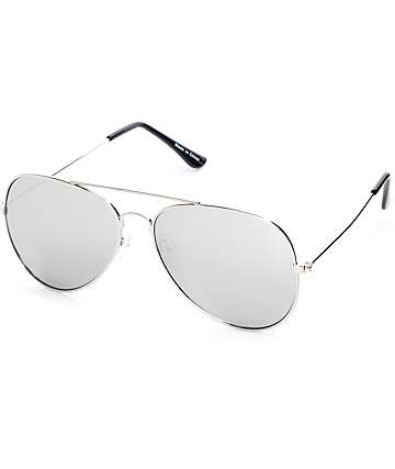 aviator sunglasses silver  Aviator Sunglasses at Zumiez : CP