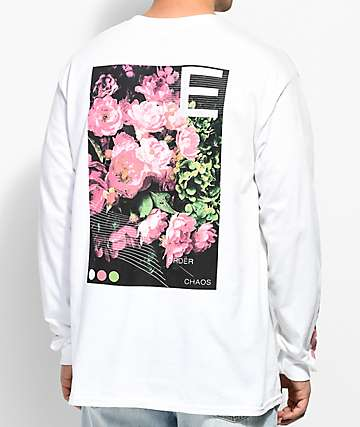 Empyre Order & Chaos camiseta blanca de manga larga