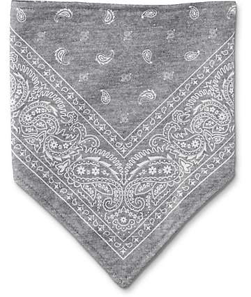 Empyre Paisley bufanda protectora en gris
