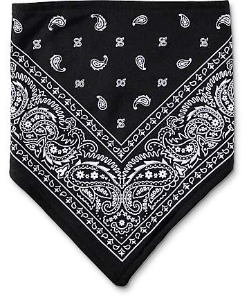 Empyre Paisley bufanda protectora en negro