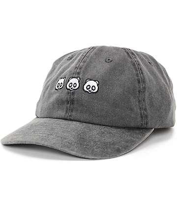 Empyre Panda Cubed Black Baseball Hat