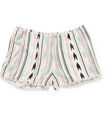 Empyre Peri Blanket Stripe Shorts