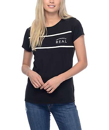 Empyre Pernilla Real Black T-Shirt