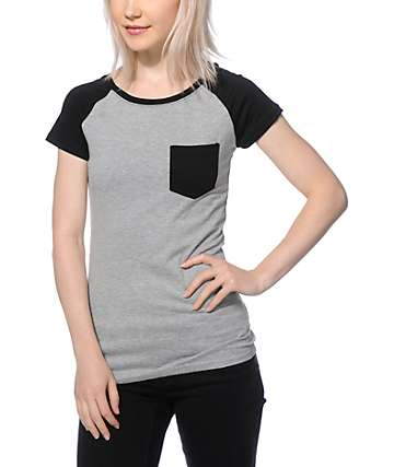 Empyre Petra Black & Grey T-Shirt