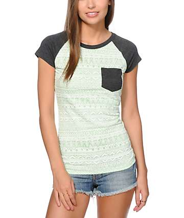 Empyre Petra Mint Tribal T-Shirt