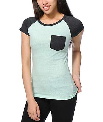 Empyre Petra Seafoam & Charcoal T-Shirt