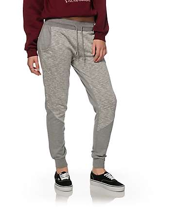 Empyre Phinney Grey Panel Jogger Pants