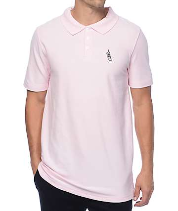 Empyre Pique Cellie Pink Polo Shirt