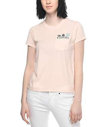 Empyre Pockito Peach Cactus Squad T-Shirt
