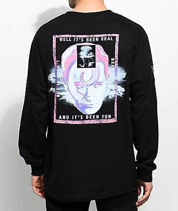 Empyre Psychosis camiseta negra de manga larga