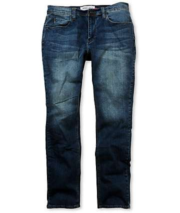 Empyre Revolver Coastal Blue Regular Fit Jeans