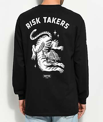 Empyre Risky Business Black Long Sleeve T-Shirt