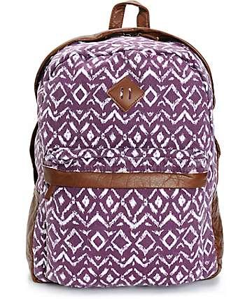 Empyre Robin Blackberry Tribal Backpack