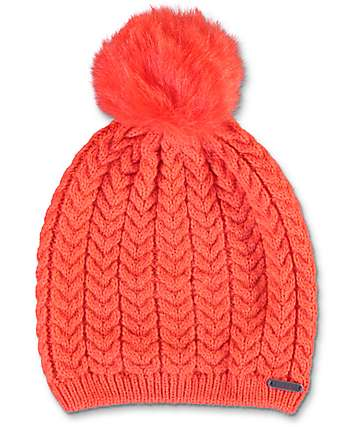 Empyre Roland Red Pom Beanie