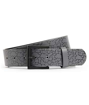 Empyre Rollin Crackle Charcoal Belt