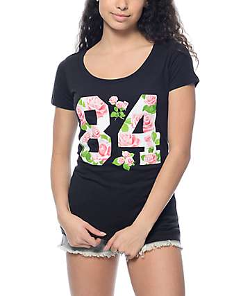 Empyre Rose 84 Black T-Shirt
