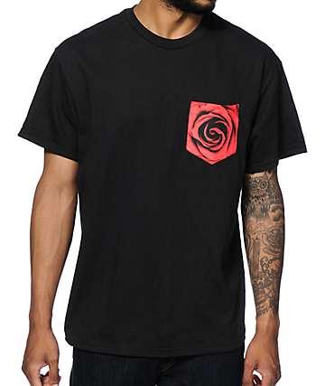 Empyre Rose camiseta con bolsillo