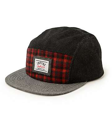 Empyre Rucker Plaid 5 Panel Hat