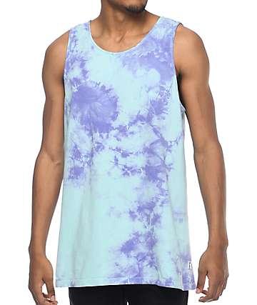 Empyre Runner camiseta sin mangas con efecto tie dye