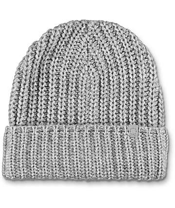 Empyre Sand & White Speckle Fold Beanie