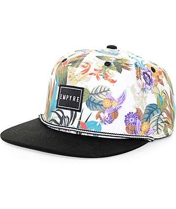 Empyre Santacruzer Rope White & Black Snapback Hat