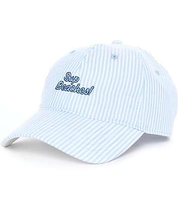Empyre Seer gorra strapback en azul y blanco