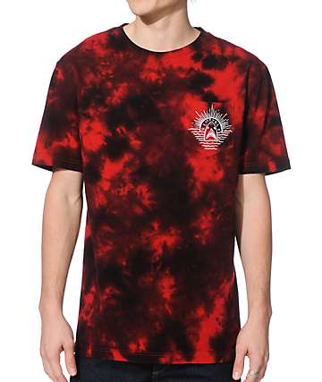 Empyre Shark Bait Tie Dye Pocket T-Shirt