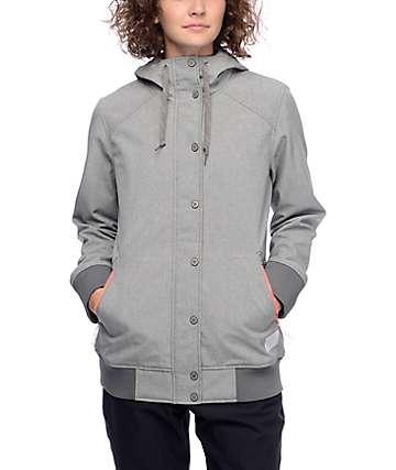 Empyre Sheerbliss 10K chaqueta softshell en color carbón
