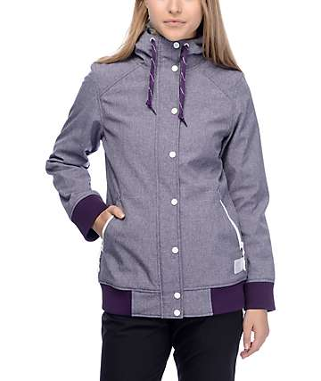Empyre Sheerbliss Blackberry 10K Softshell Jacket