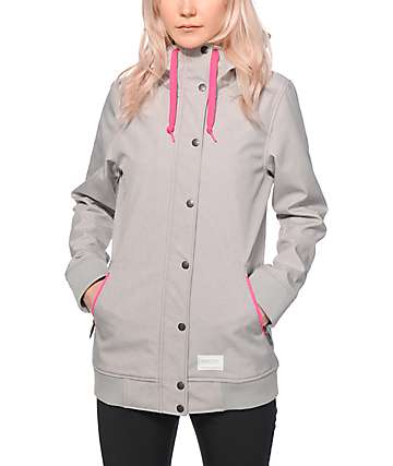 Empyre Sheerbliss Grey 10K Softshell Jacket