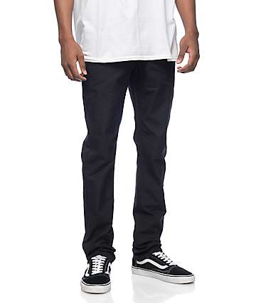 Empyre Skeletor Black Canvas Chino Pants