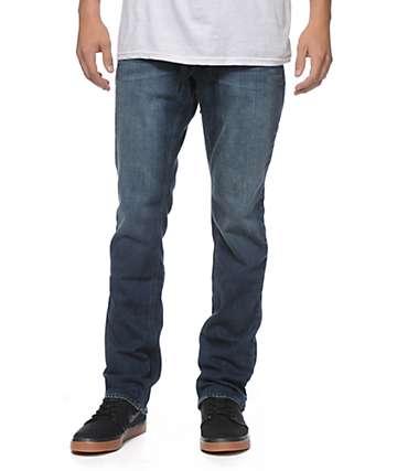 Empyre Skeletor Coastal jeans corte ceñido color azul