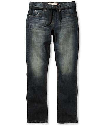 Empyre Skeletor Dark Sea Skinny Fit Jeans