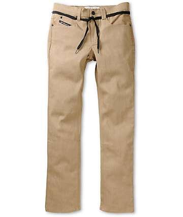 Empyre Skeletor S Gene Dark Khaki Skinny Fit Jeans