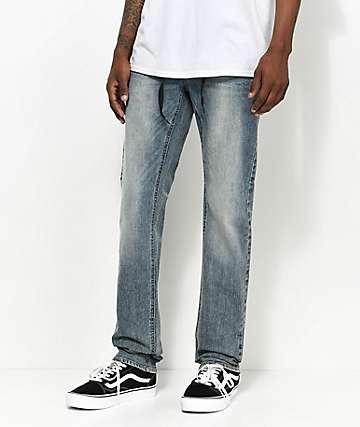 Empyre Skeletor Tinted Haze Skinny Jeans