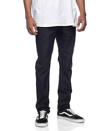 Empyre Skeletor pantalones chinos negros de lona