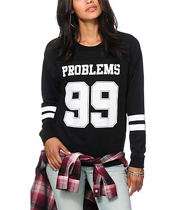 Empyre Sorel 99 Problems Crew Neck Sweatshirt