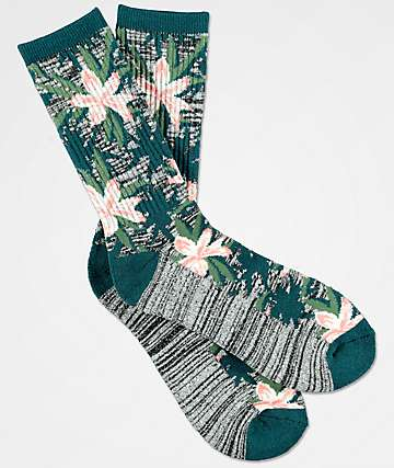 Empyre Space Vines Jacquard Crew Socks