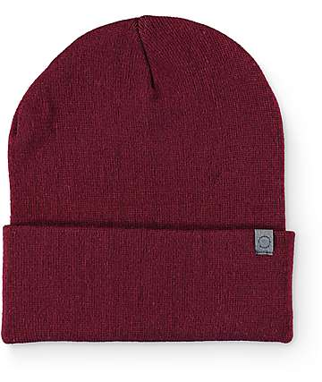 Empyre Sterling Burgundy Foldover Beanie