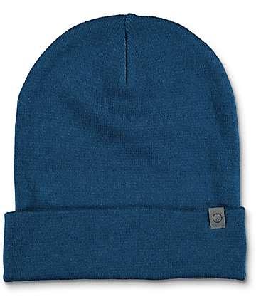 Empyre Sterling Cuff Blue Beanie