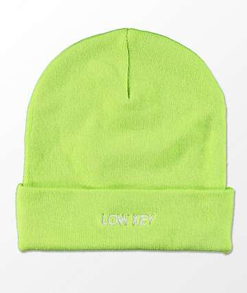 Empyre Sterling Low Key Chartreuse Beanie