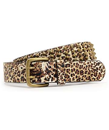 Empyre Studdette Animal Print Belt