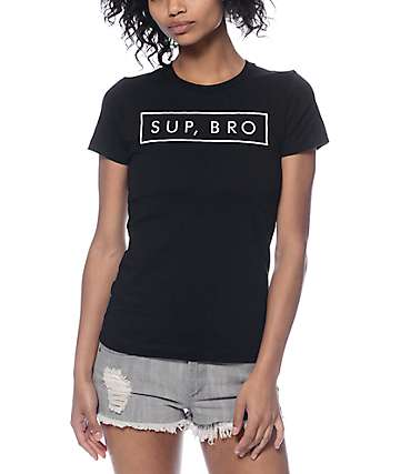 Empyre Sup, Bro Black T-Shirt