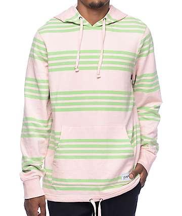 Empyre Switchback sudadera con capucha en verde y rosa