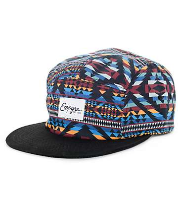 Empyre Tarzan Black 5 Panel Hat
